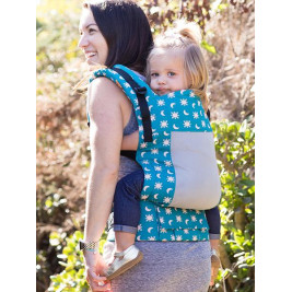 Baby carrier TULA Toddler Coast Aurora