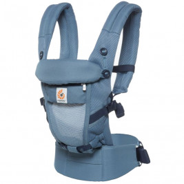 Ergobaby Adapt Cool air Mesh Bleu Gris