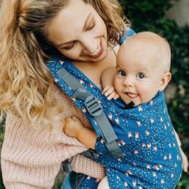 Boba X Oceana baby carrier physiological