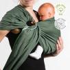 Néo'sling Vert Menthe coton bio Néobulle