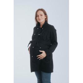 Lennylamb manteau de portage Trench Coat noir