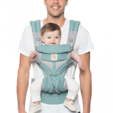 8b519f99e74 Baby Carrier Ergobaby Omni 360 Cool Air-Mesh With Khaki 4 Positions