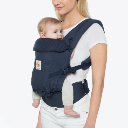 16bcc7a8a6b Ergobaby Adapt Navy Pea Pink baby carrier physiological