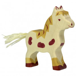 Small Pony Spotted Wooden Holztiger