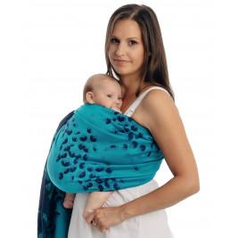 Lennylamb FINESSE - TURQUOISE CHARM sling bébé