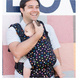 TULA Toddler Confetti dot baby carrier physiological
