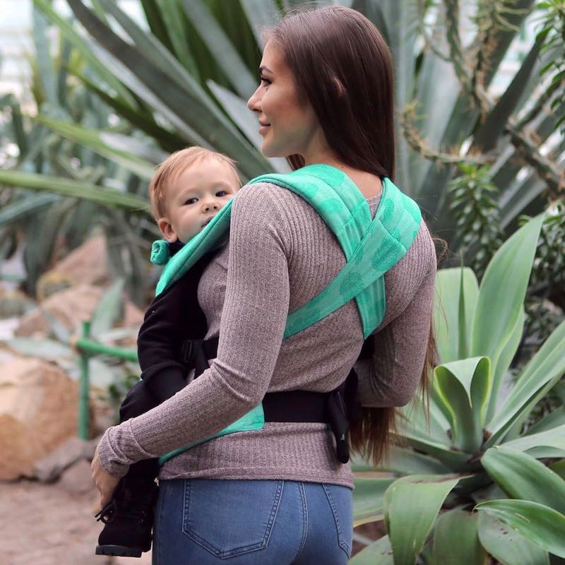 Love And Carry DLIGHT Full Wrap Conversion Feathers Baby carrier bcd5f8a8170