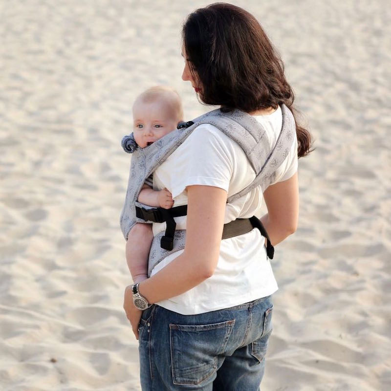 Love And Carry DLIGHT Full Wrap Conversion Diamonds Baby carrier 2a2d2da4a53