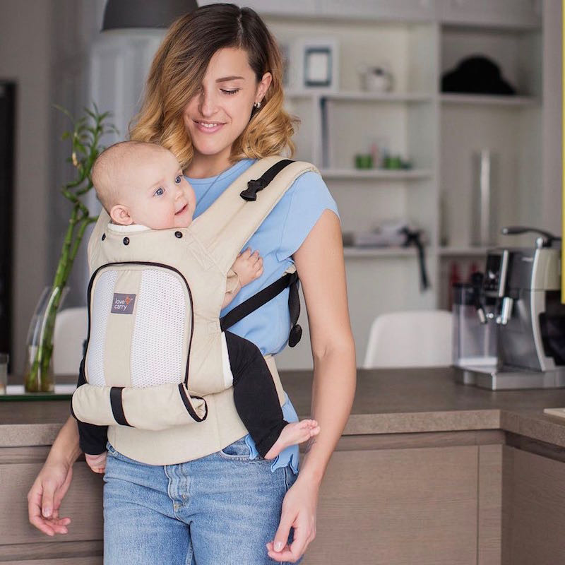 c102c43db4c Love And Carry AIR Tropical Forest Baby carrier Physiological Cheap