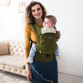 Love And Carry Olive AIR - Porte-bébé Physiologique