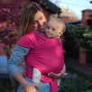 Love And Carry Stretchy Baby Wrap Fuchsia