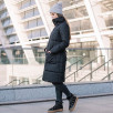 Love And Carry Coat Babywearing 3-in-1 Black