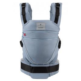 Manduca XT Bellybutton SoftCheck Blue baby carrier adjustable