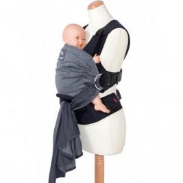 Manduca Duo Gris - Porte-bébé Hybride