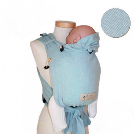 Storchenwiege BabyCarrier version SLIM Aqua