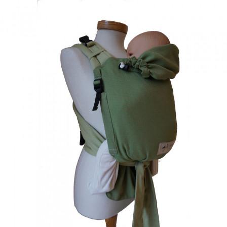 4bb35bd463d Storchenwiege BabyCarrier Vert Porte-bébé Meï-taï Physiologique