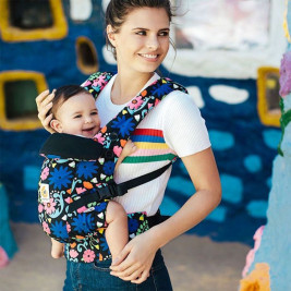 Ergobaby Adapt French Bull Flores - carrier Scalable Limited Series