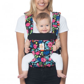 Ergobaby Omni 360 English Bull Flores - carrier Expandable 4 Positions Limited Series