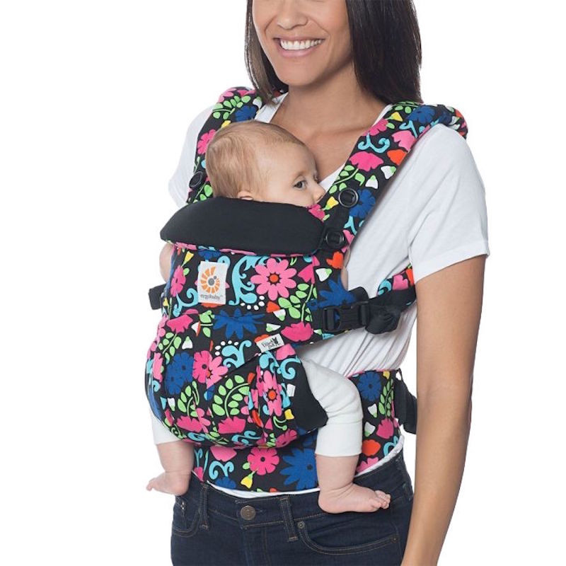 e8290f76ac0 ... Ergobaby Omni 360 English Bull Flores - carrier Expandable 4 Positions  Limited Series ...