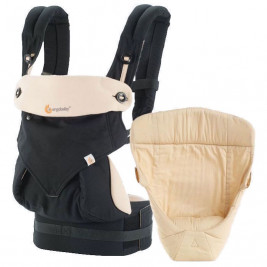 0fee659d070 Ergobaby Pack Expandable 360 Black Beige - baby carrier 4 Positions