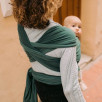 Boba Wrap Bamboo and Organic Cotton Rainforest - elastic Sling