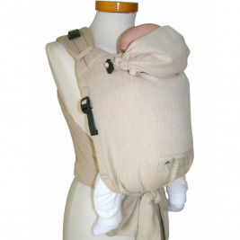 Storchenwiege BabyCarrier SLIM Nature Ecru