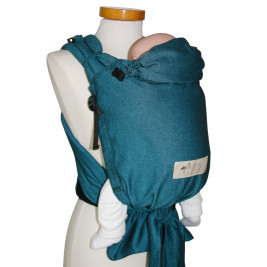 Storchenwiege BabyCarrier version SLIM Turquoise