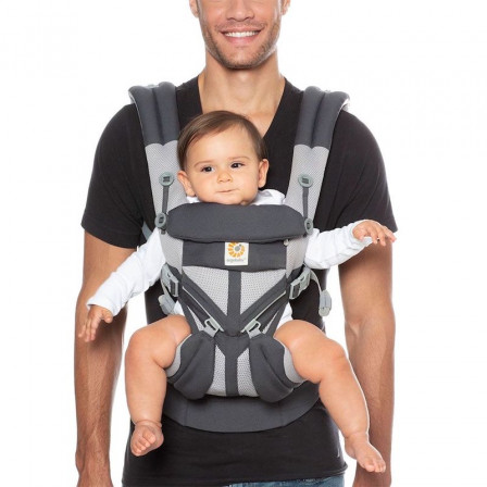 a37d057392f Baby Carrier Ergobaby Omni 360 Cool Air-Mesh With Khaki 4 Positions