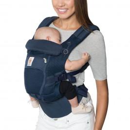 Ergobaby Adapt Cool air Mesh Bleu Profond - Porte-bébé Évolutif