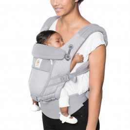 Ergobaby Adapt Cool Air Mesh Gris Perle