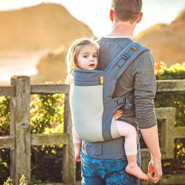 Beco Toddler Cool Dark Grey - baby carrier