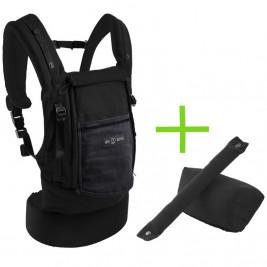 Love Radius (JPMBB) Pack Bundle PhysioCarrier Coton Noir Poche Anthracite