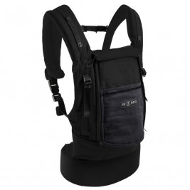 JPMBB Bundle Physiocarrier Cotton Black, pocket Charcoal Grey