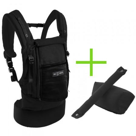 Love Radius (JPMBB) Pack Bundle PhysioCarrier Coton Tout Noir