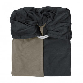 Little Wrap Without A Knot Grey - Olive