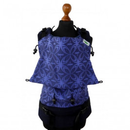 Buzzidil Baby carrier Versatile Standard Silver Feathers on black