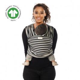 Babylonia Tricot-Slen Design Black and White Stripes - Wrap