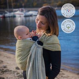 Néobulle Sling Jungle Bres Olive - baby carrier Sling