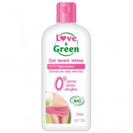 Love and Green Gel Lavant Intime Apaisant Bio
