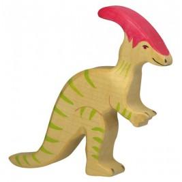 Parasaurolophus en bois Holztiger