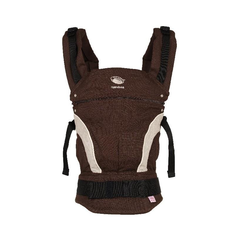 ... acheter porte-bébé manduca chocolat marron 82705d3b829