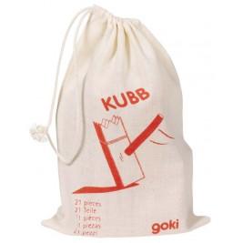 Mini-Kubb, jeu d'échecs viking en bois