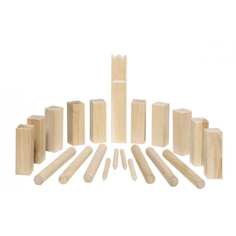 kubb jeu d 39 checs viking en bois en petit format naturiou. Black Bedroom Furniture Sets. Home Design Ideas