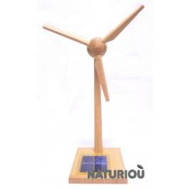 Wind solar wood