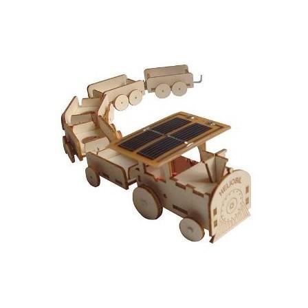 maquette de train solaire h liobil naturiou. Black Bedroom Furniture Sets. Home Design Ideas
