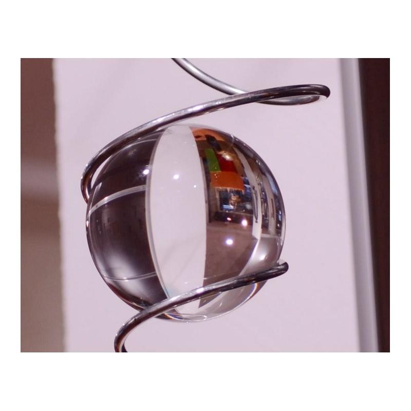 spirale solaire double avec une boule de verre h biolil naturiou. Black Bedroom Furniture Sets. Home Design Ideas