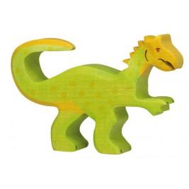 Oviraptor en bois Holztiger
