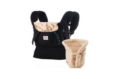 Acheter le pack porte-bébé ergobaby noir beige