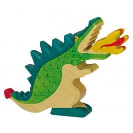 Grand dragon vert Holztiger