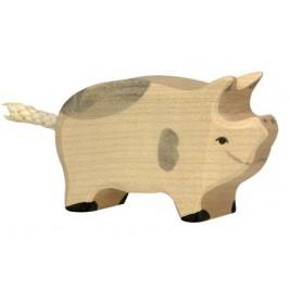 Porcelet tacheté en bois Holztiger